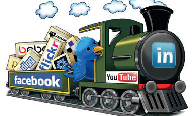 All Aboard The Social Media Train!